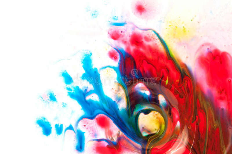 Stromende verf vector illustratie