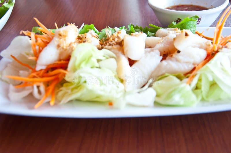 Stromfische für gesunde Nahrung stockfotos