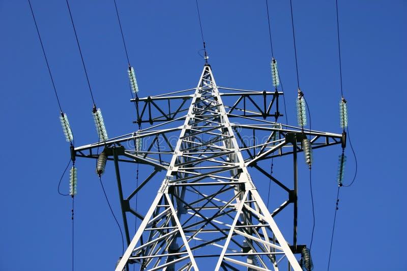 Stromleitung II lizenzfreie stockbilder