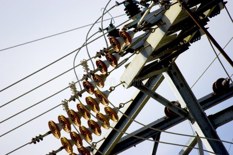Download Stromleitungen stockfoto. Bild von schaltung, leuchte, energie - 25840