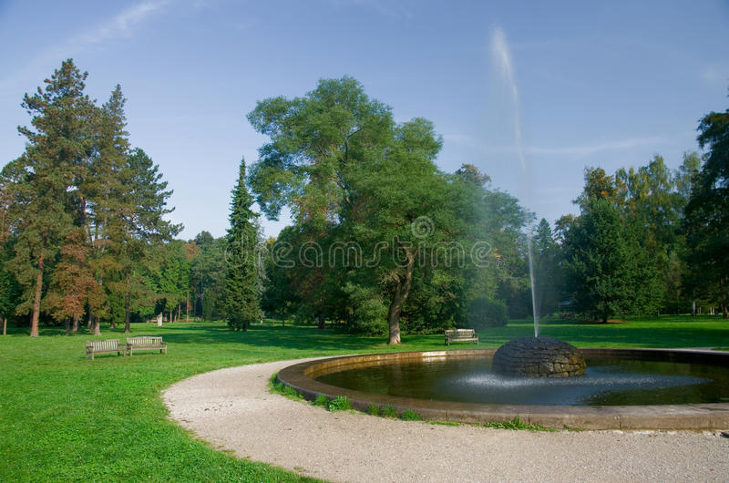 Stromovka park in Prague royalty free stock image