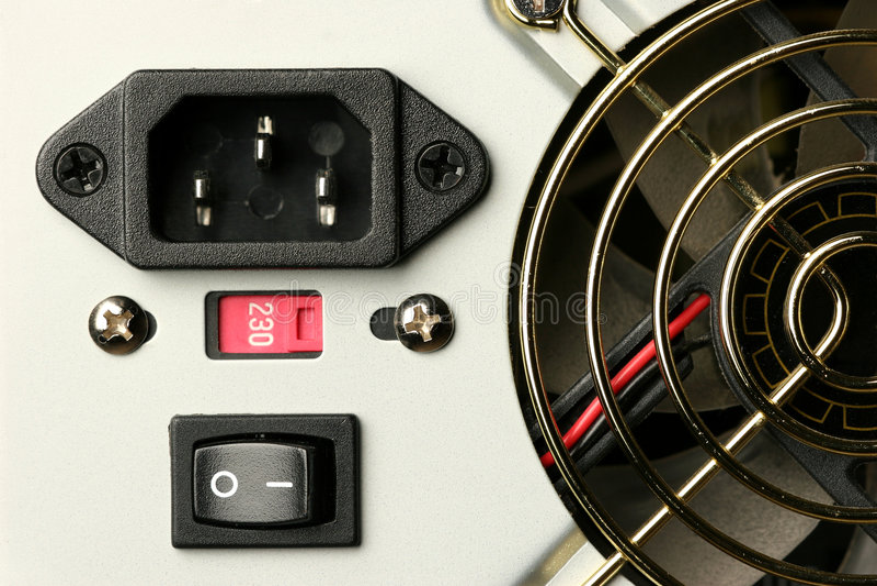 Stromversorgung lizenzfreie stockbilder