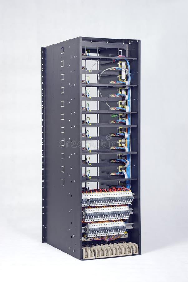 Stromverteiler stockfotografie