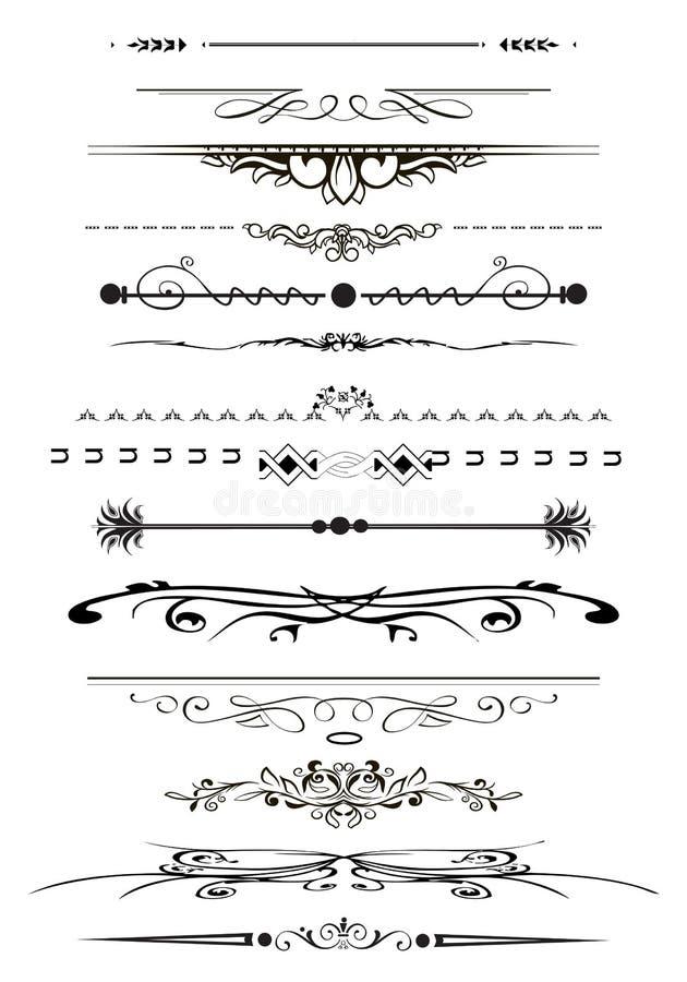 Stron reguły royalty ilustracja