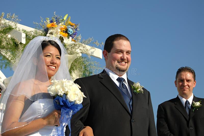 strona ślubnych fotografia royalty free