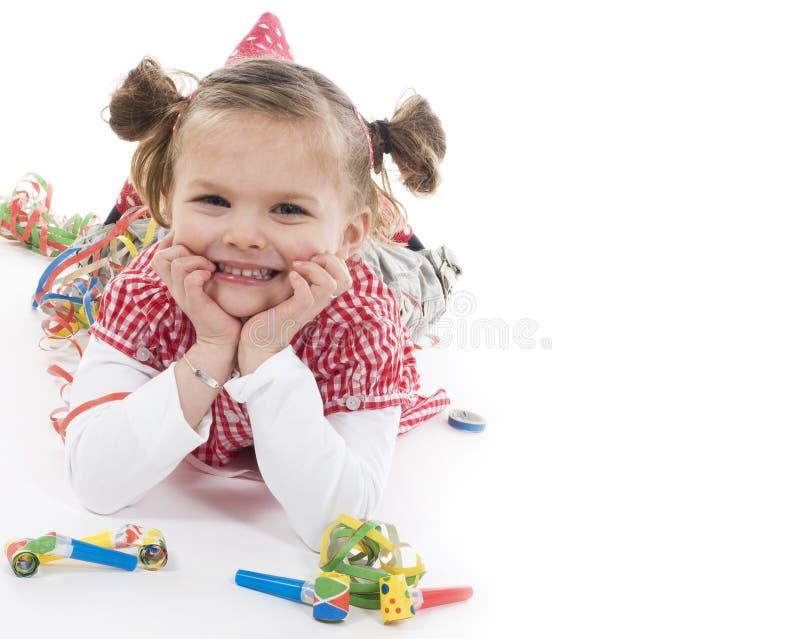 strona dziewczyny obraz stock