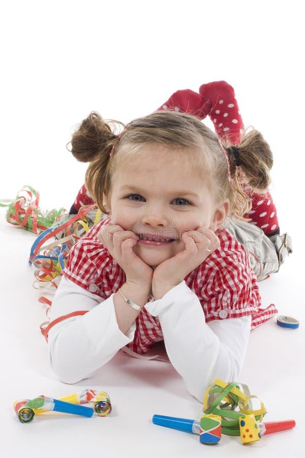 strona dziewczyny zdjęcia stock