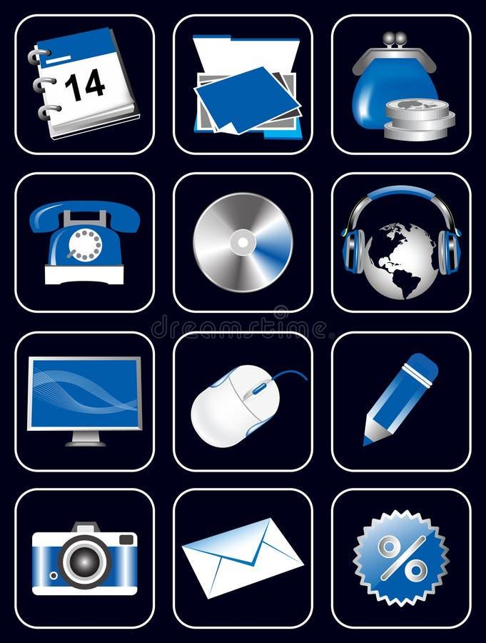 strona internetowa ikony ilustracji