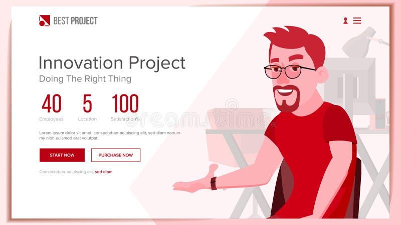 Strona Internetowa wektor Biznesowy projekt Techniczny Online poparcie Kreskówki drużyna Ewolucja system ilustracja ilustracja wektor
