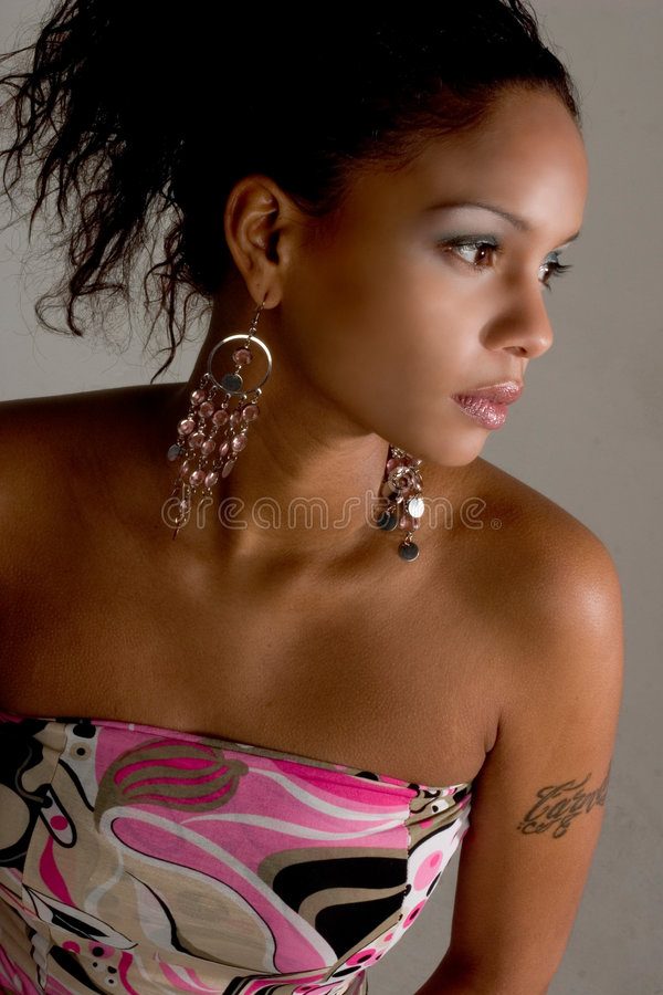 strona modny dziewczyny zdjęcie royalty free