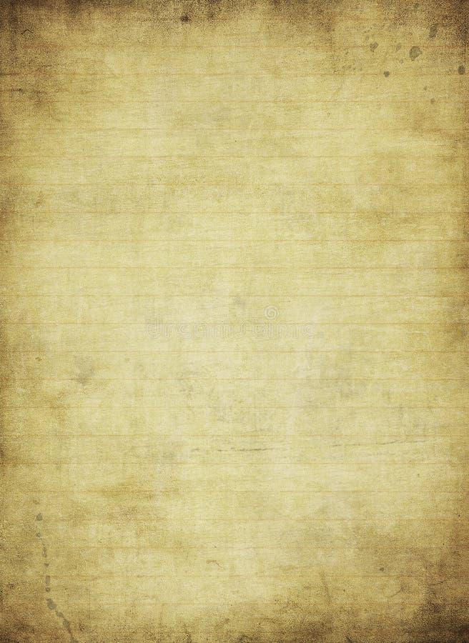 Strona od grunge starego notatnika ilustracji