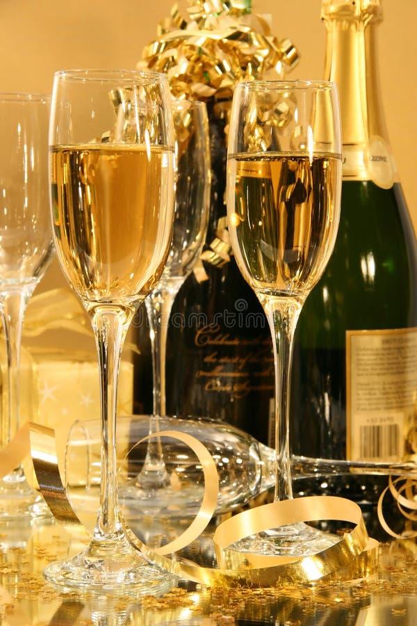 strona szampana fotografia royalty free
