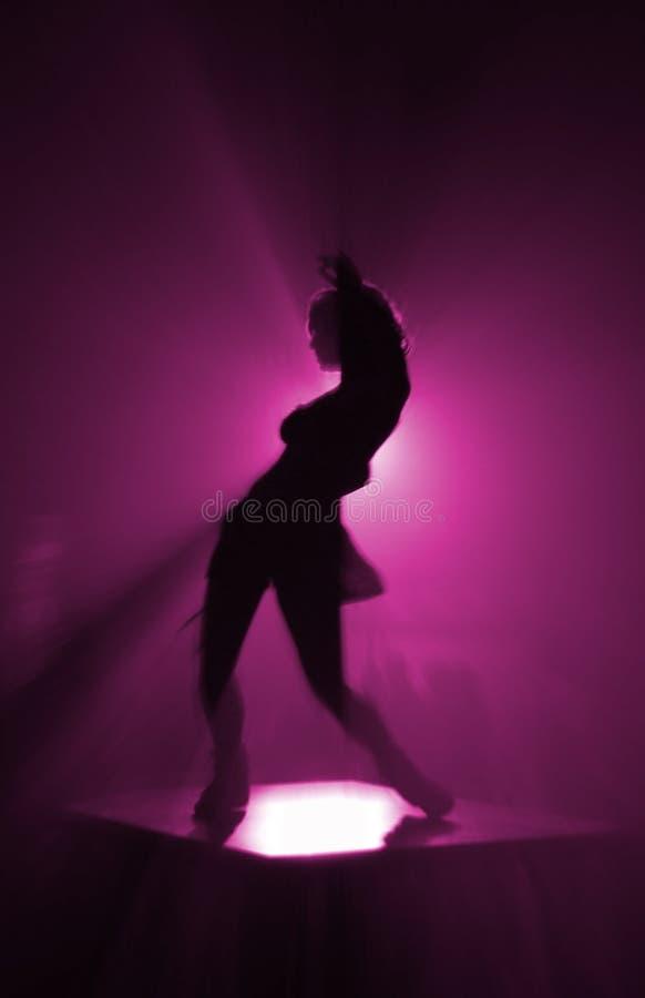 strona tancerkę. obraz stock