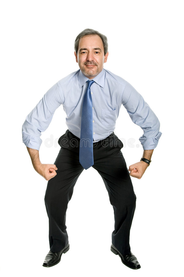Strong stock image