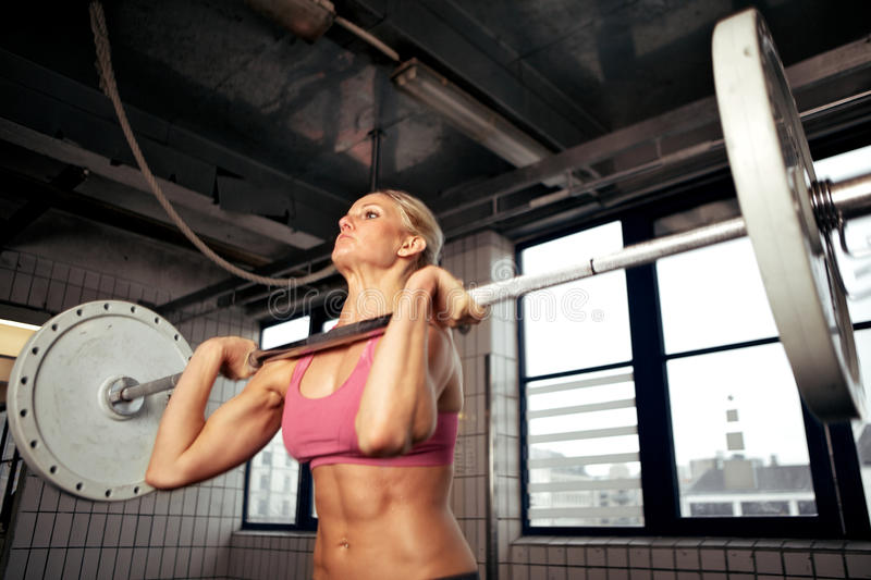 Download Strong Bodybuilding Female stock photo. Image of girl - 25317516