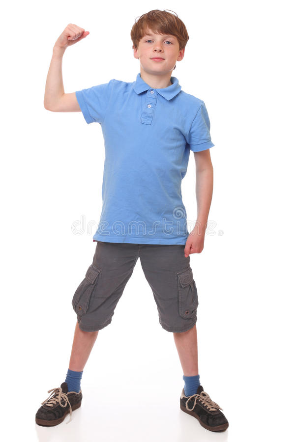 Strong Boy Royalty Free Stock Images