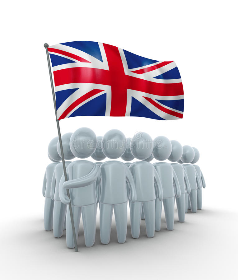Download Strong Britain stock illustration. Image of insignia, group - 9981295