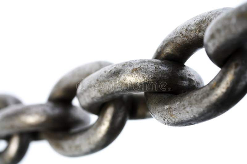 Strong Chain stock image