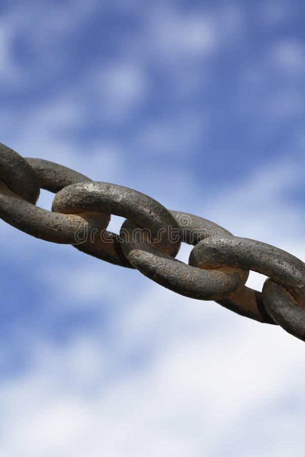 Download Strong chain stock image. Image of linked, metal, rust - 1948019