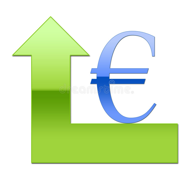 Strong Euro Value stock image