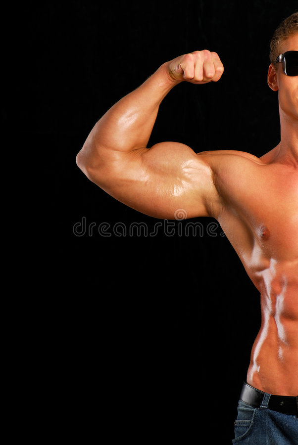 Download Strong man. stock photo. Image of healthcare, smooth, abdomen - 3351576