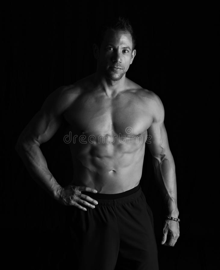 Strong man royalty free stock images