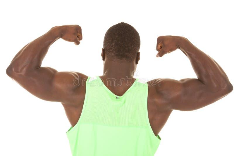 Download Strong Man Flex Back Stock Image - Image: 32938571