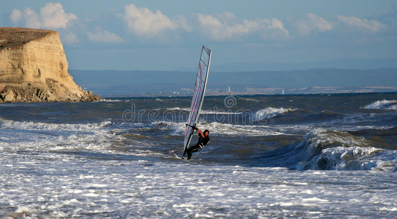 Download After A Strong Northerly Wind. Stock Image - Image: 12084387