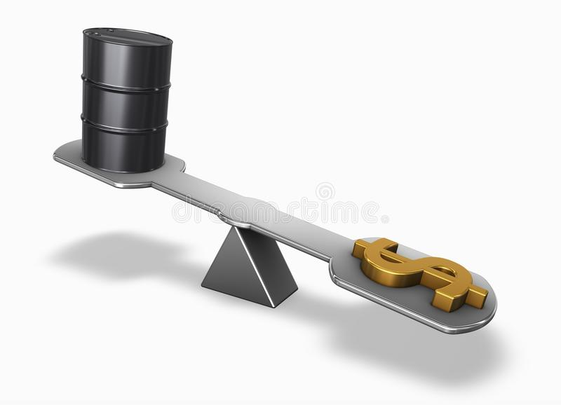 Download Strong oil stock illustration. Image of cartel, graph - 16626006