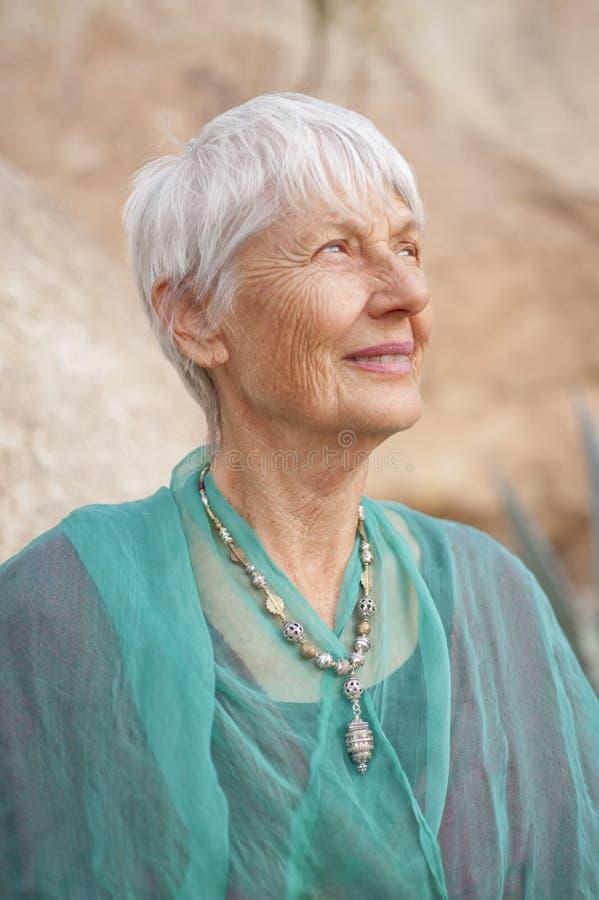 Strong Senior Woman royalty free stock photo