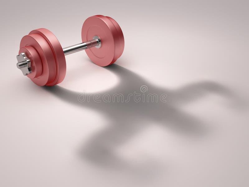 Download Strong Shadow stock illustration. Illustration of sport - 26968101