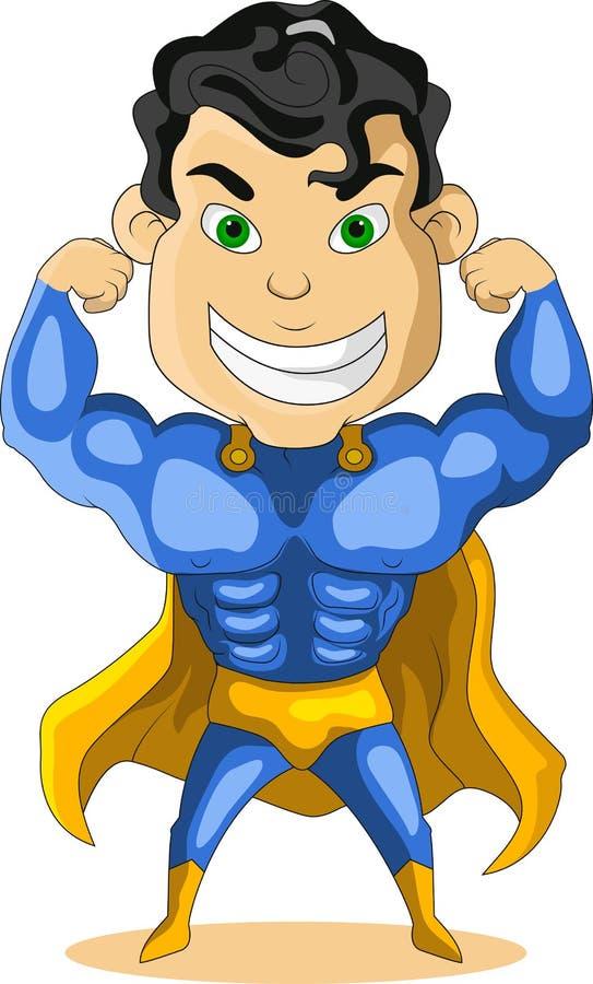 Download Strong super hero stock illustration. Illustration of art - 27048753