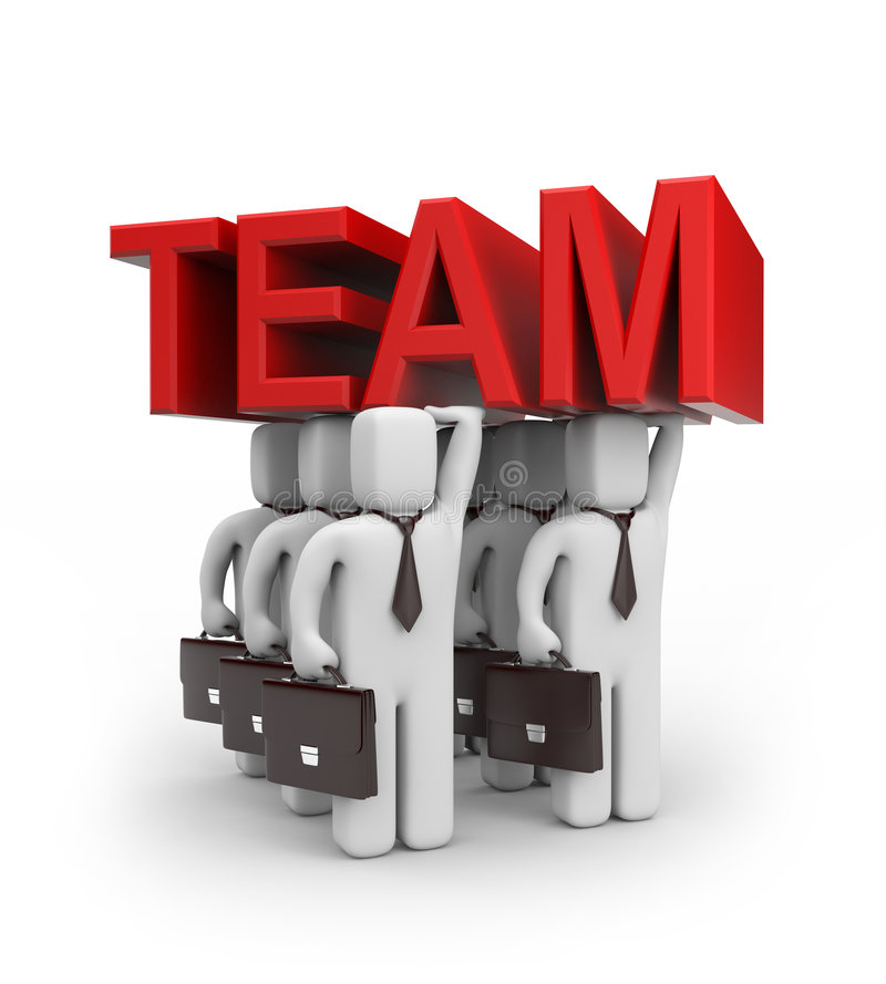 Free Strong Team Royalty Free Stock Photo - 7669025