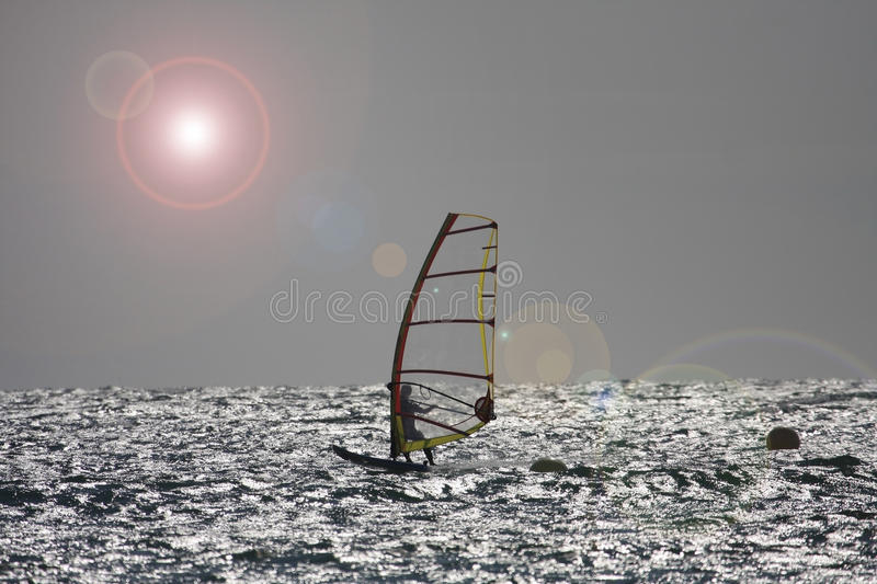 Strong Winds At Rhosneiger Stock Image