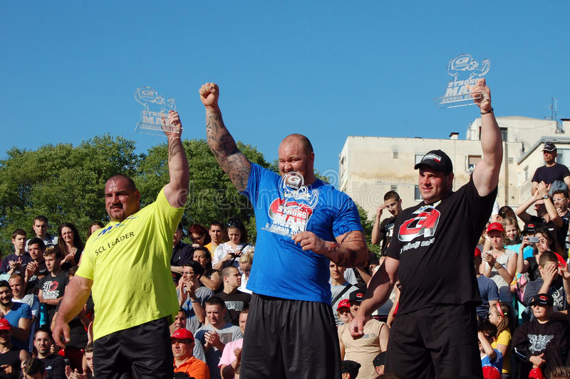 Strongman Championship royalty free stock photography
