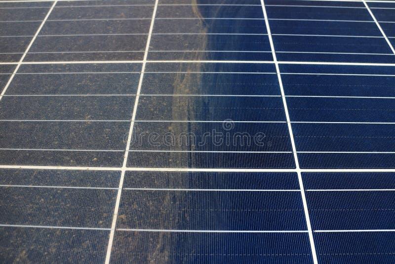 Stronniczo Czyści Photovoltaic panel fotografia royalty free