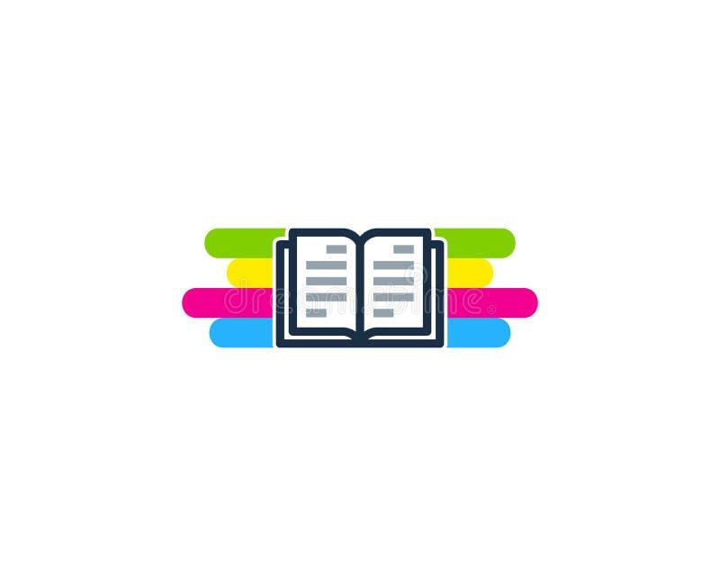 Strony farby loga ikony projekt royalty ilustracja