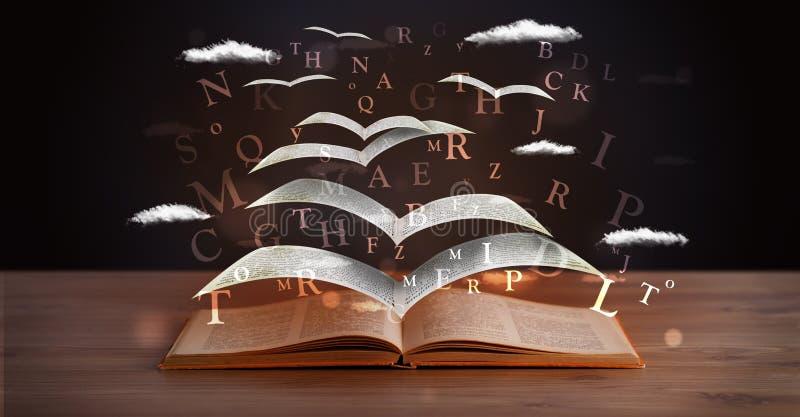 Strony i jarzyć się listy lata z książki zdjęcie royalty free
