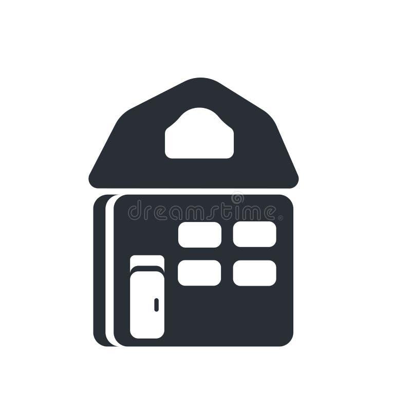 Strony internetowej strony domowej ikony wektoru znak i symbol odizolowywający na białym tle, strony internetowej strony domowej  ilustracji