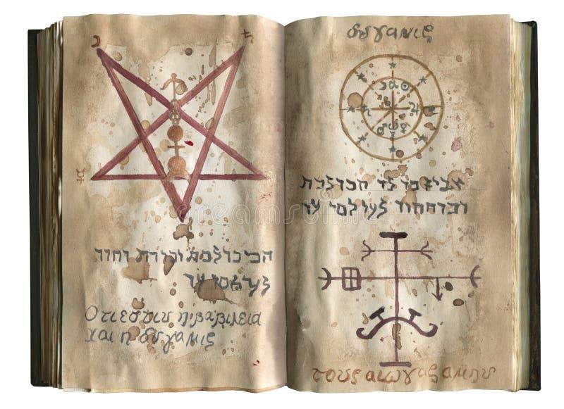 Necronomicon książka zdjęcia royalty free