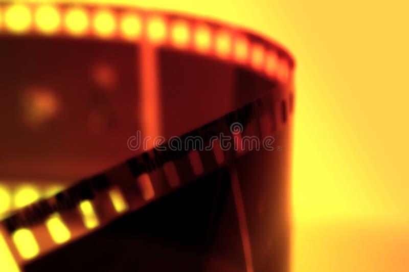 Strook 4 Van De Film Royalty-vrije Stock Afbeelding