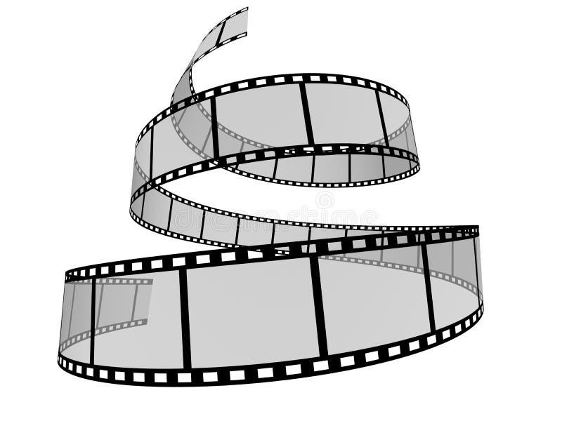 Strook 8 van de film stock illustratie