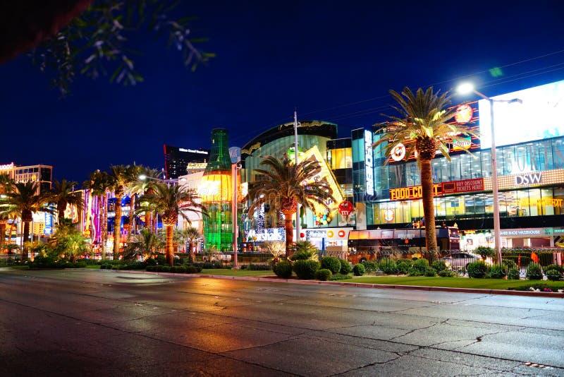 Strook 63 van Las Vegas royalty-vrije stock fotografie