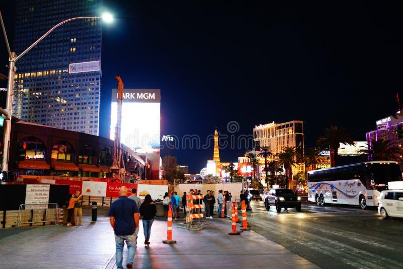 Strook 58 van Las Vegas royalty-vrije stock foto