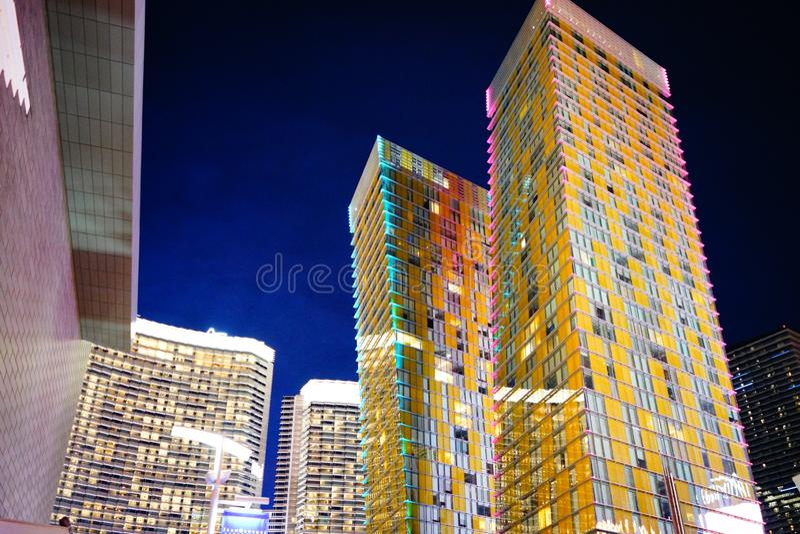 Strook 56 van Las Vegas stock afbeeldingen