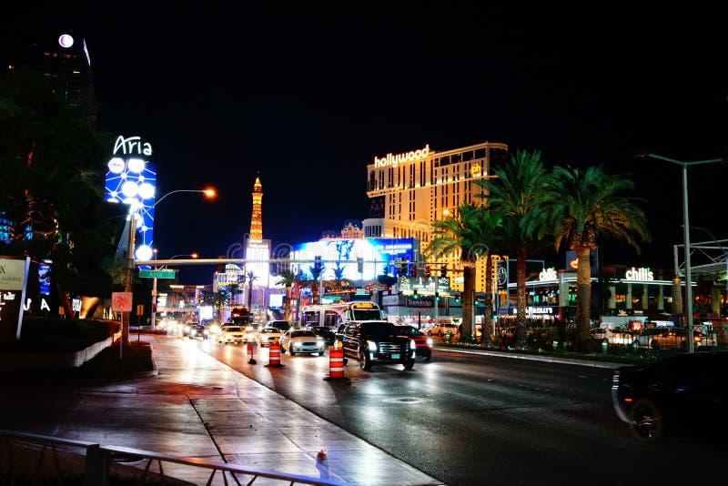 Strook 53 van Las Vegas royalty-vrije stock foto's