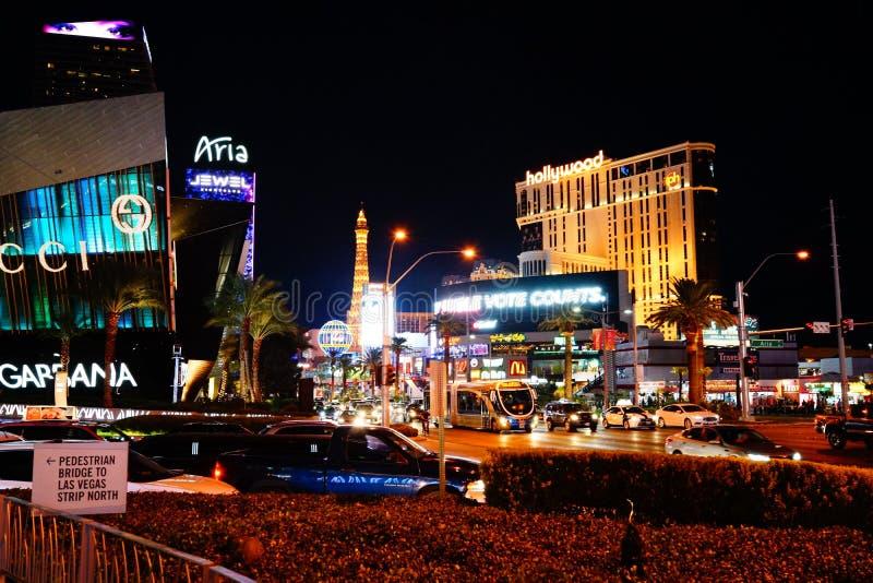 Strook 52 van Las Vegas royalty-vrije stock afbeeldingen