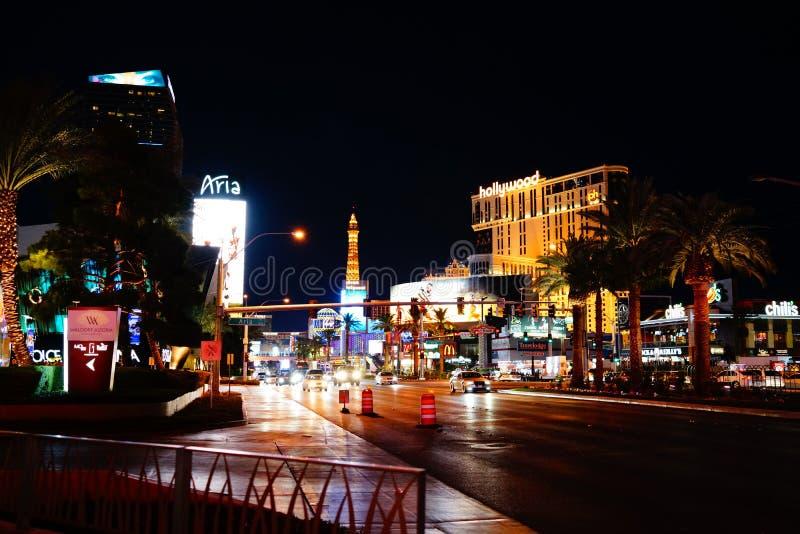 Strook 49 van Las Vegas stock afbeeldingen