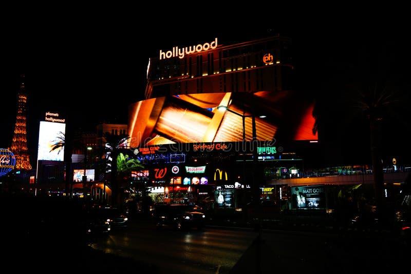 Strook 42 van Las Vegas stock foto's