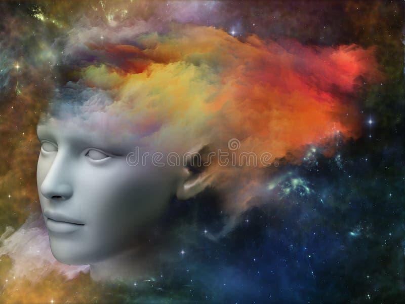 Stroom van bewustzijn vector illustratie